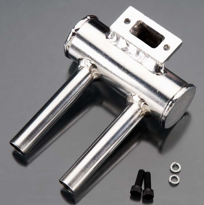 JTEC SNUFLER MUFFLER JT-801 R//C MODEL ENGINE ADDITIONAL SILENCER J/'TEC